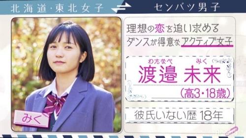 恋ステシーズン11の渡邉未来/わたなべみく